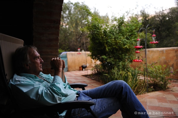 Charles Bowden ecrivain, Patagonia Arizona 2011