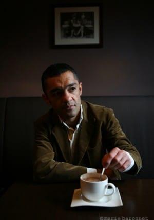 Mayar Monshipour, ex-champion du monde de boxe professionnelle, Paris 2008