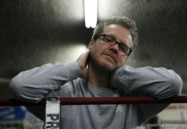 Freddie Roach ex-boxeur professionnel entraineur de boxe, Los angeles 2008