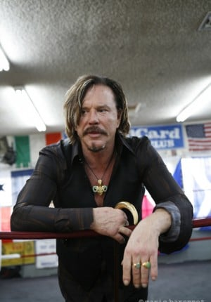 Mickey Rourke acteur, Los angeles 2008