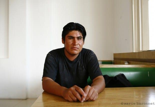 27_Luis Daniel Serrano déporté à la frontière de Mexicali Mexique 2009