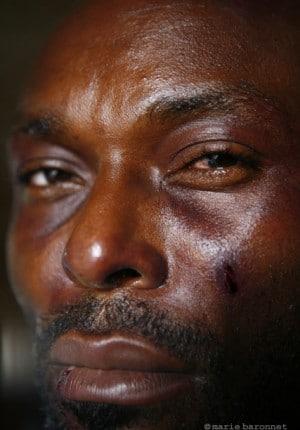 31 Jimmy Jean-Louis comedien, tournage de Molloch tropical de Raoul Peck,Haiti 2009