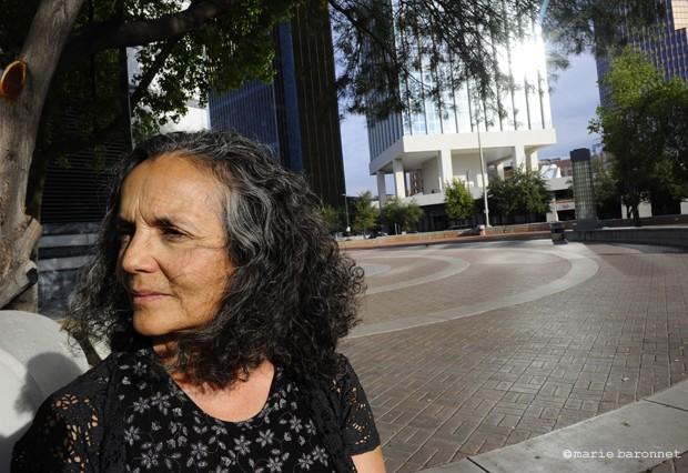 34 Isabel Garcia activiste et avocate pour les droits des immigrants  mexicains, Tucson Arizona 2010