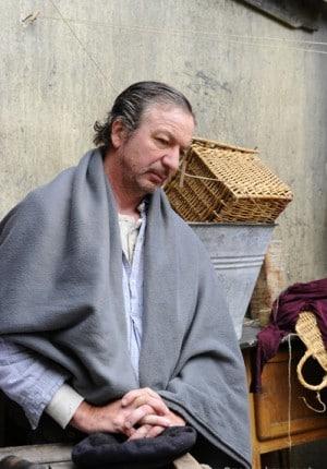 52 Bruno Lochet comedien, tournage de Brassens la mauvaise reputation de Gerard Marx, Paris 2011