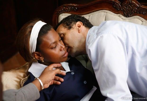Zinedine Soualem, Fardia Roc et Raoul Peck, Haiti 2009