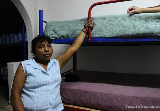 87.Yasmin Zamora, casa migrante, Nogales 2010