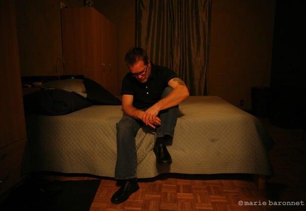 Freddie Roach chez lui Los angeles 2008