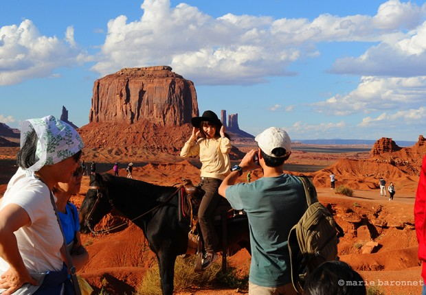 Monument Valley Utah Arizona 2013. 5 dollars for a postcard
