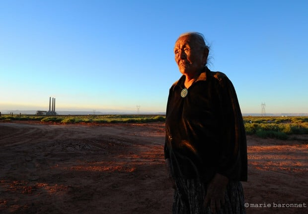 Highway 98 Arizona 2013. Pearl Begay. Jobs were promised but we never got them but respiratory deseases we did get