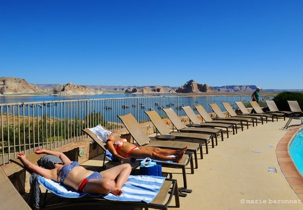 Lake Powell resort Arizona 2013.