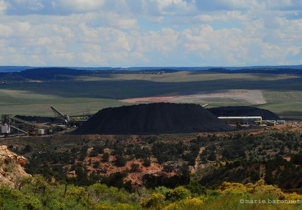 Black Mesa Arizona 2013. Kayenta mine is the largest coal strip mine of the US while this is one of the poorest area of the country. Not only did it disturb the land but also the harmonious relationship between Navajo and Hopi people